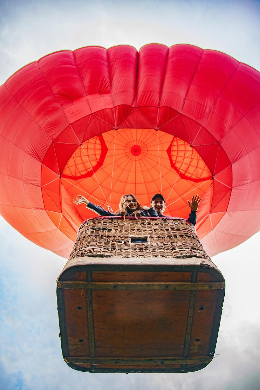 Романтика на воздушном шаре