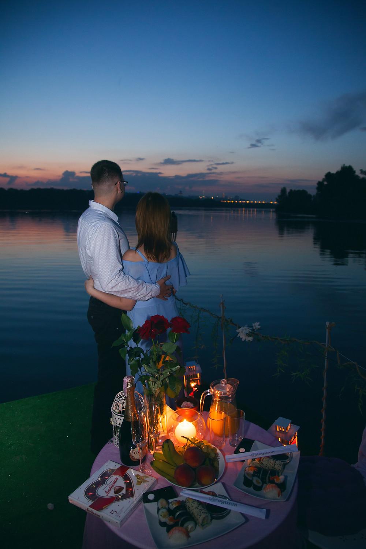Красочный вечер для двоих