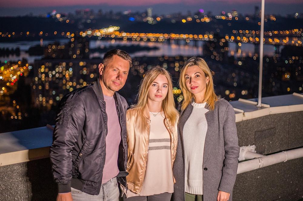 Семейный отдых на крыше, Киев, сервис романтики Альтечо