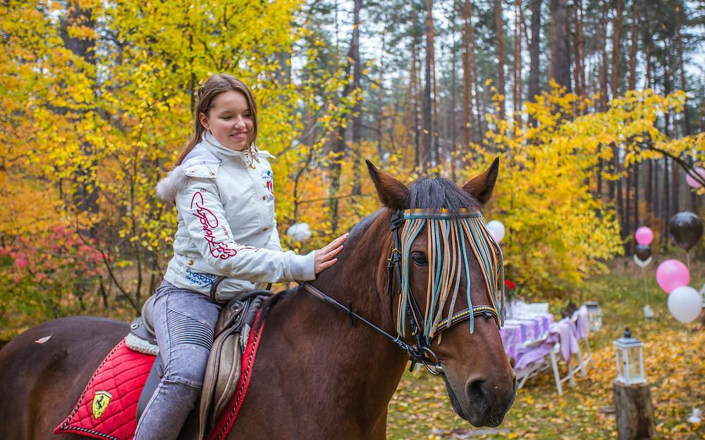 Прогулка на лошадях, Киев