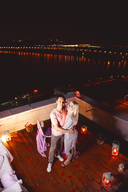 Ужин на крыше, сервис романтики Альтечо