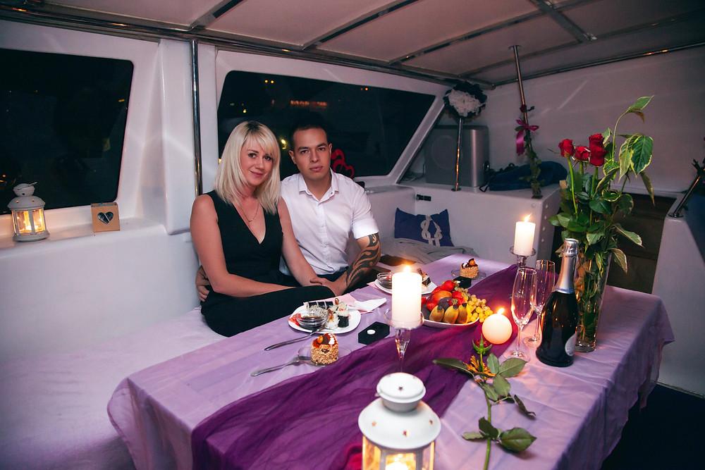 Романтический ужин, Киев, сервис романтики Альтечо