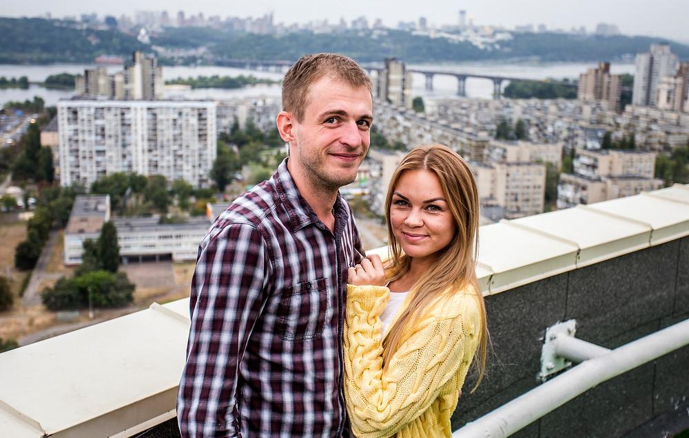 Романтика на крыше, Киев