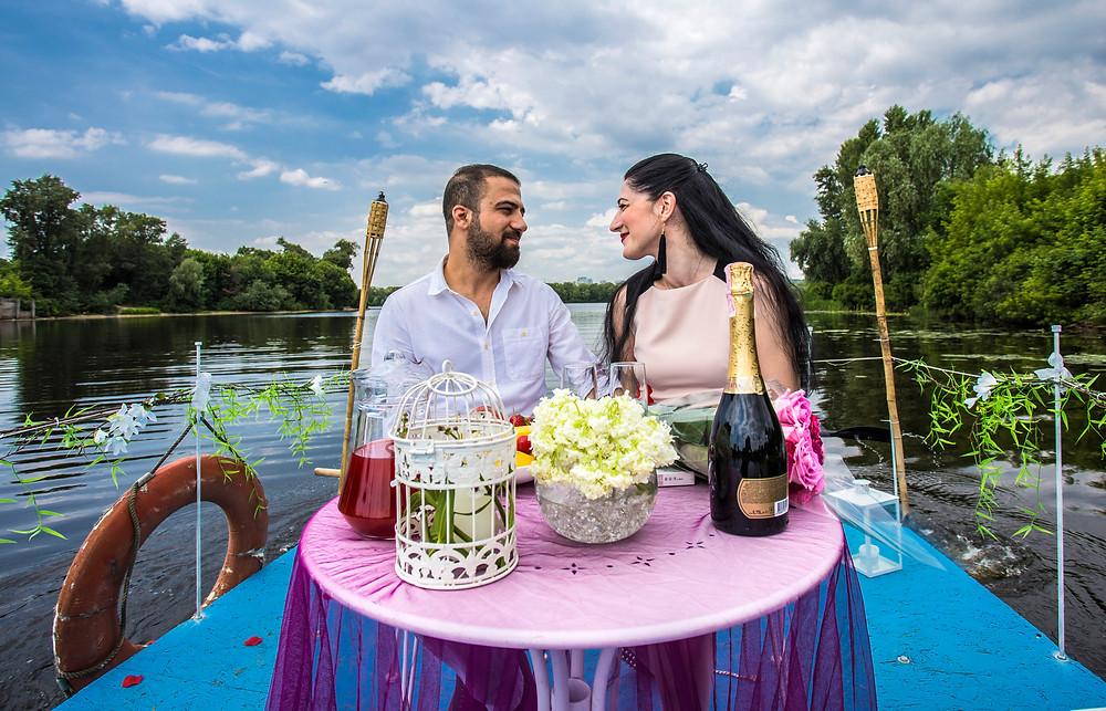 Романтика на плоту, сервис романтики Альтечо