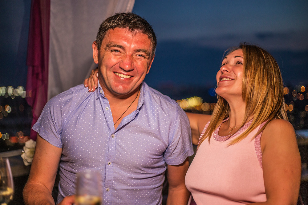 Ужин для двоих, Киев, сервис романтики Альтечо