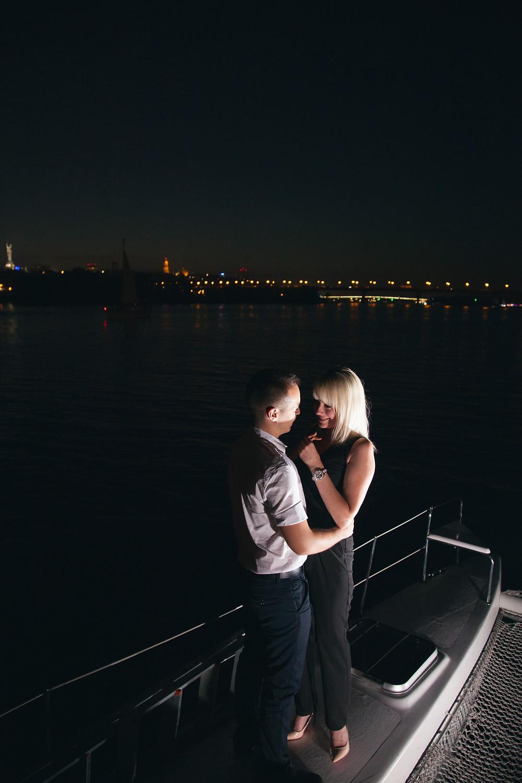 Вечер мечты на яхте, , Киев, сервис романтики Альтечо