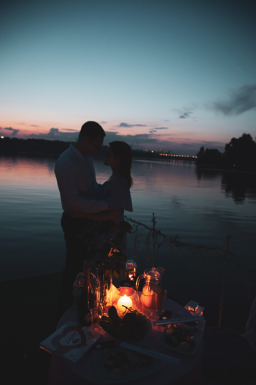 Романтический вечер на плоту, сервис романтики Альтечо