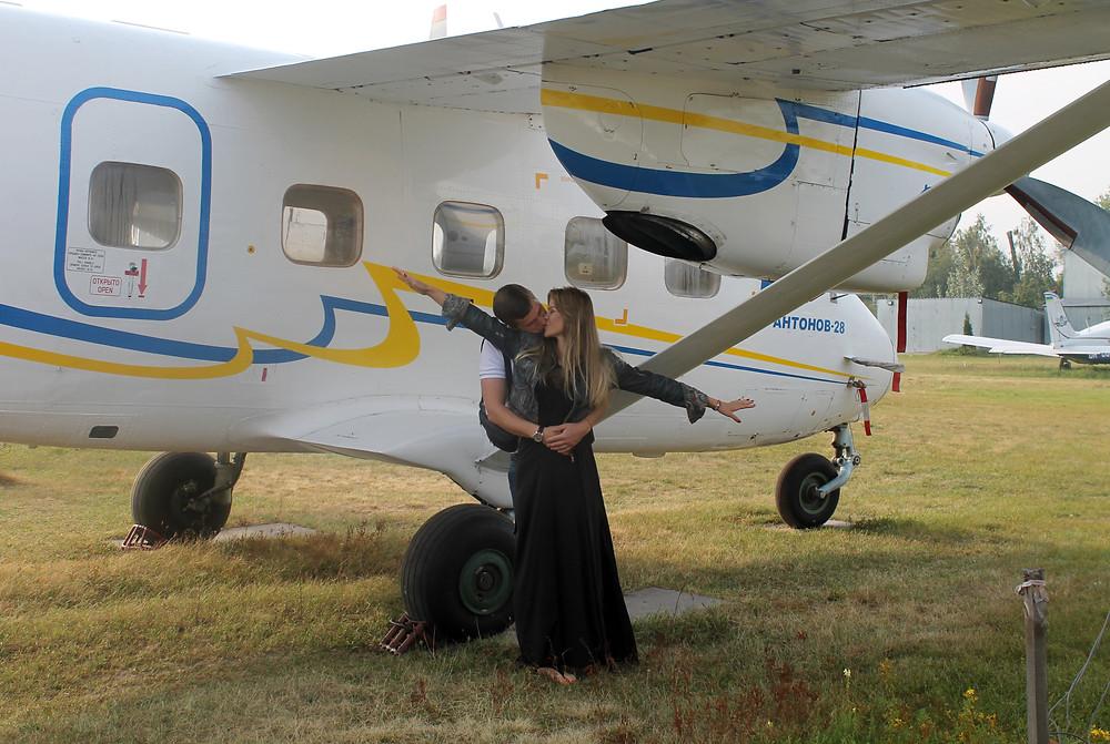 Романтическое свидание в небе, Киев, сервис Альтечо