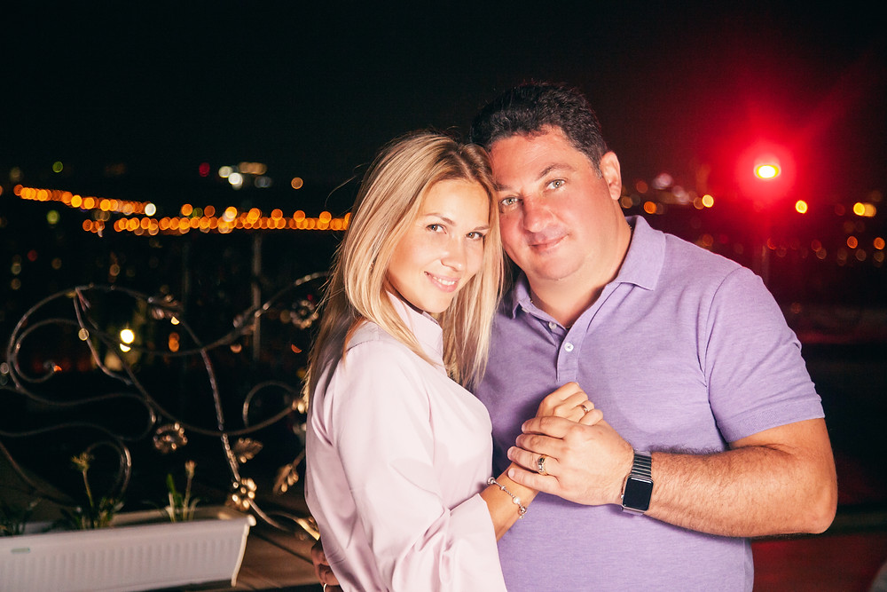 Романтическое свидание на террасе, Киев