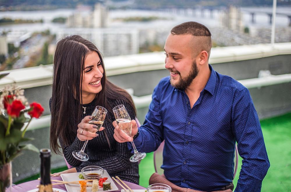 Ресторан на крыше, Киев, сервис романтики Альтечо