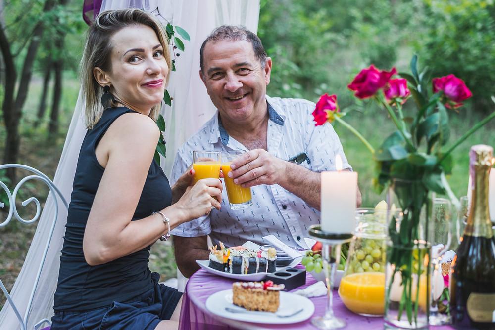 Романтический ужин в лесу, Киев, Сервис романтики Альтечо