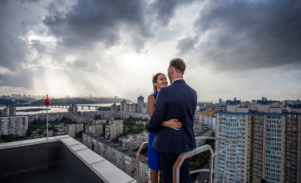 крыши Киева