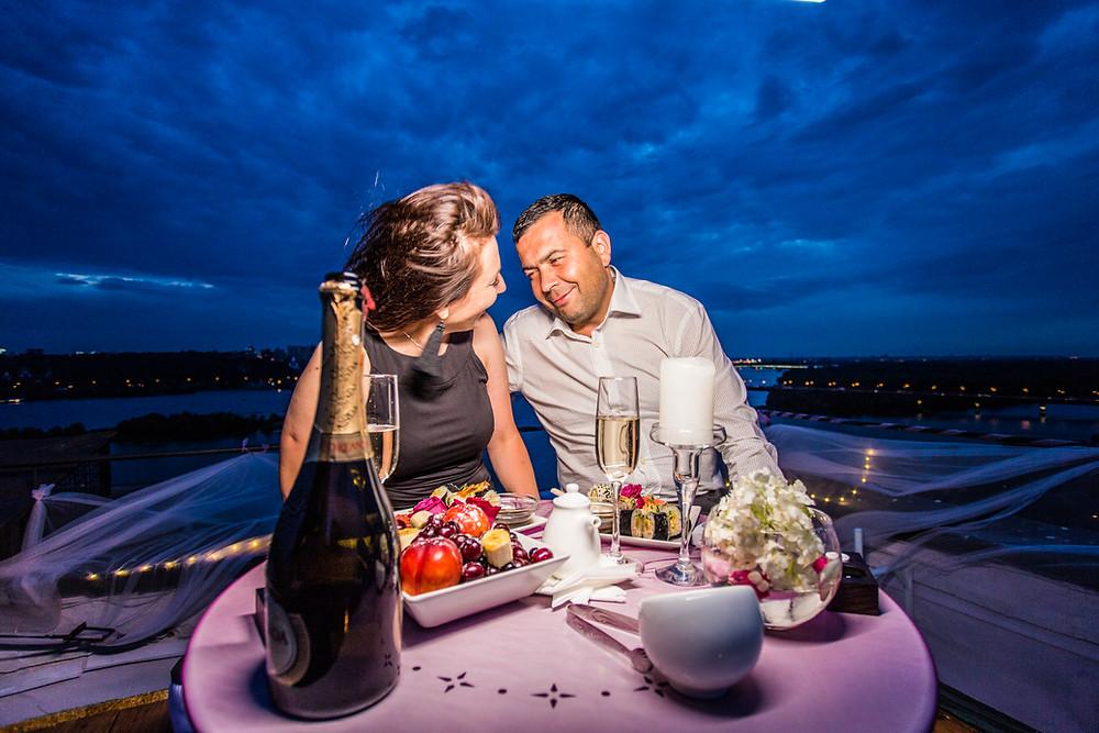Свидание на крыше, Киев, сервис романтики Альтечо