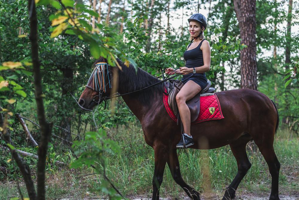 Конная прогулка, Киев, Сервис романтики Альтечо