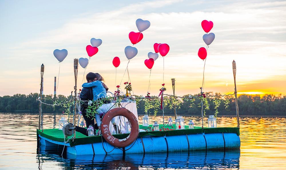 Романтика на воде