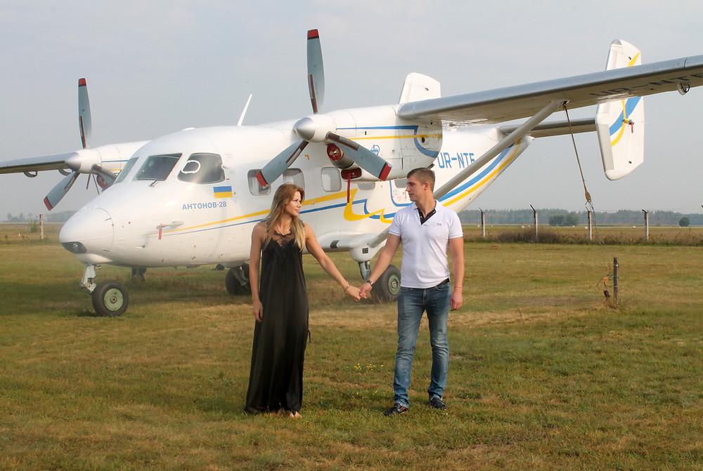 Романтическое свидание в небе