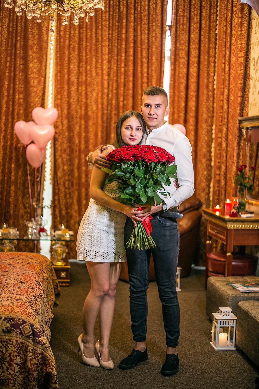 Романтика в номере отеля, сервис романтики Альтечо