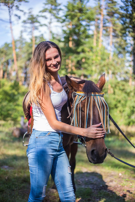 Романтическая прогулка на лошадях, сервис романтики Альтечо