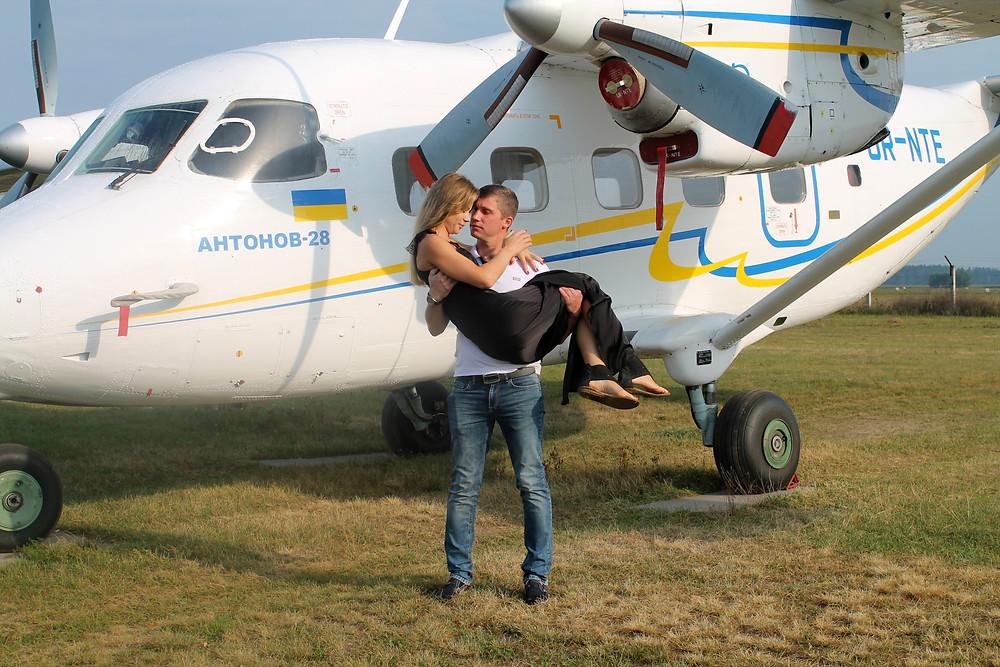 Романтическое свидание в небе, Киев