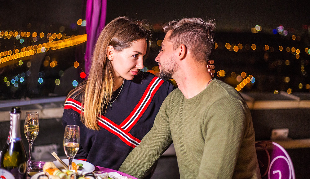 Romance dinner for two, Kyiv, Romance service Altecho