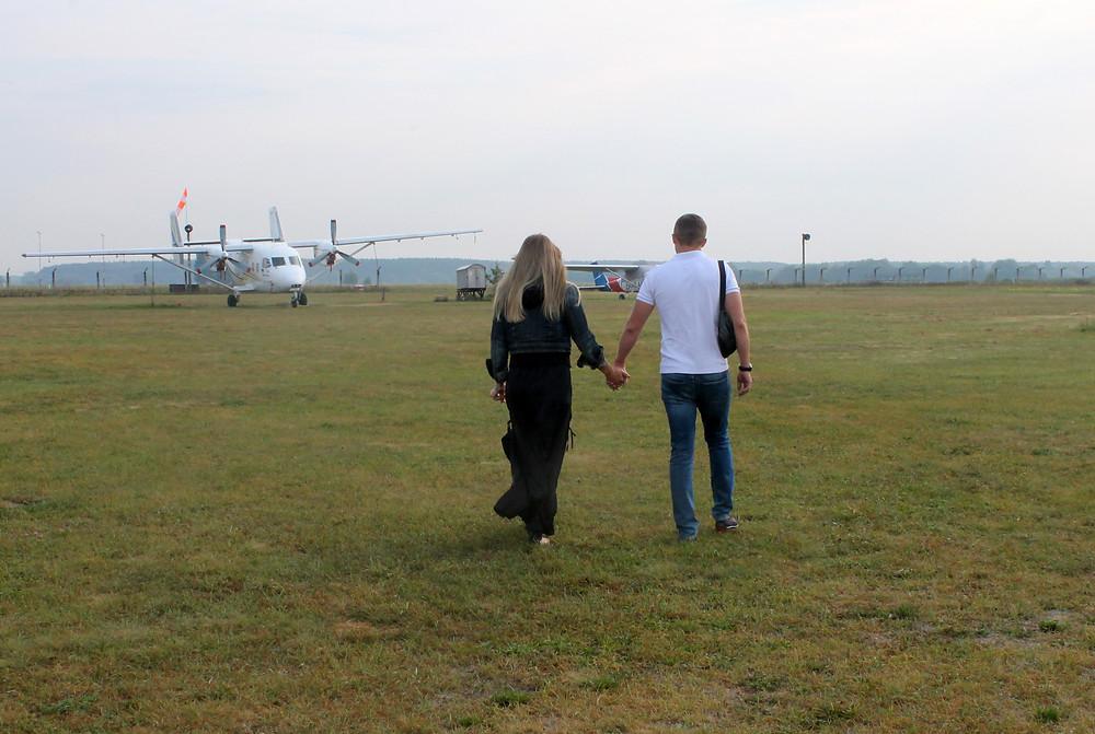 Романтическое свидание в небе для двоих