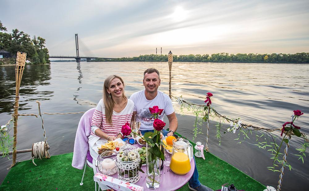Ужин в необычном месте, сервис романтики Альтечо