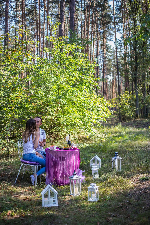 Романтическая прогулка в лесу, Киев