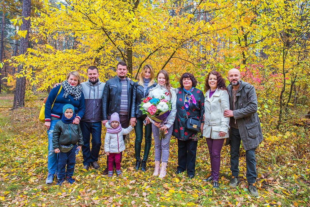 День рождение в лесу, сервис романтики Альтечо, Киев