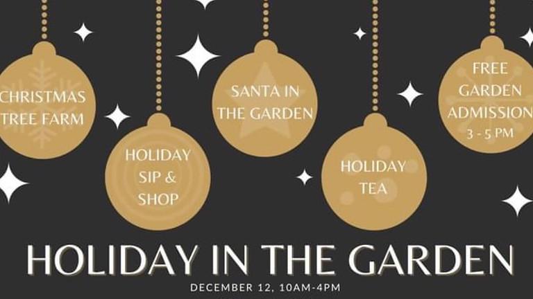 Holiday Sip & Shop at FW Botanical Gardens