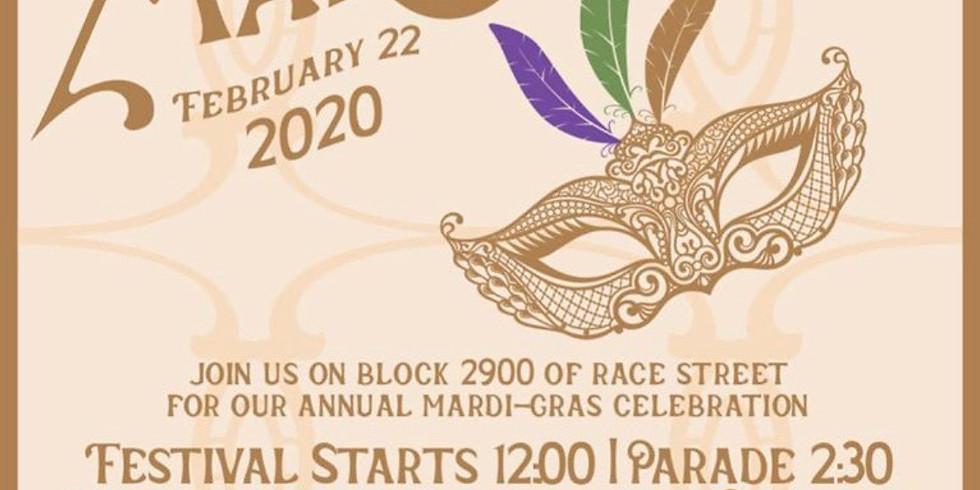 Race Street Mardi-Gras Celebration