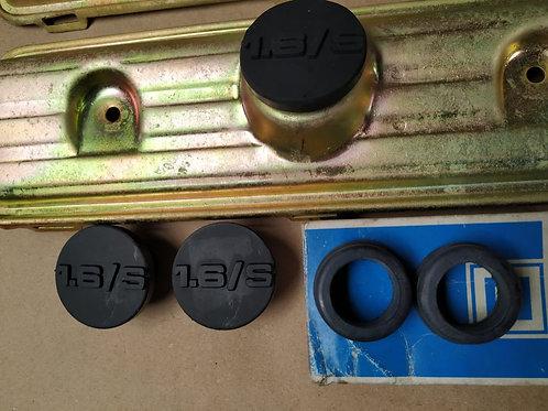 Tampa de óleo e anel de vedação das tampas de válvula