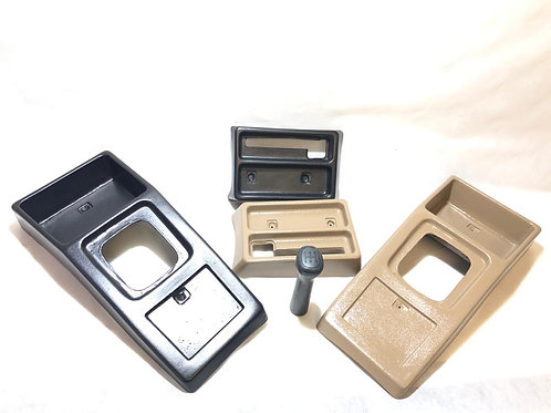 Kit Console Chevette Dl Freio De Mao + Manopla Cambio Sl Sle