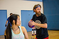 Bonnie & Clyde Pairs Dodgeball