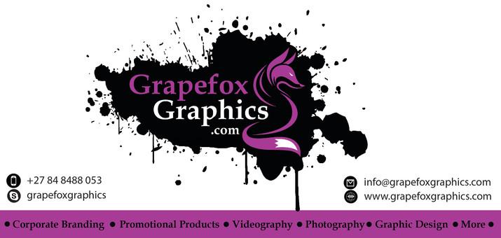 Grapefox Graphics Invoice Banner - CMYK