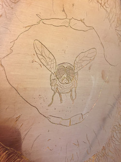Line Etching Plate