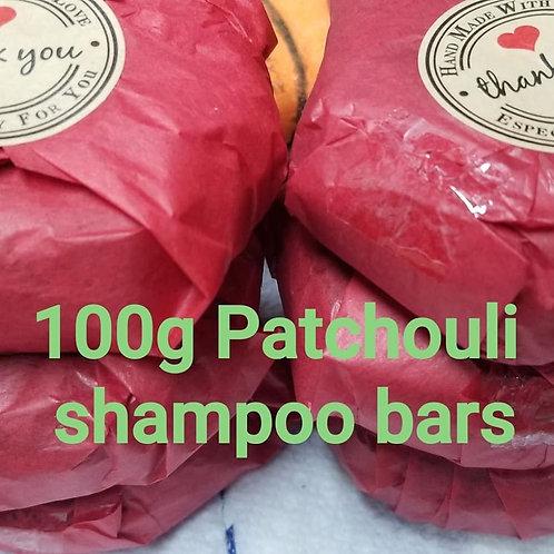 Paisley Princess Patchouli Shampoo Bar