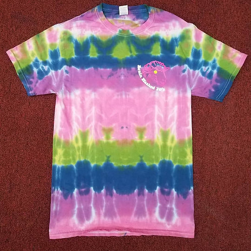 Small Brain Washed 70's Tie Dye T-shirt