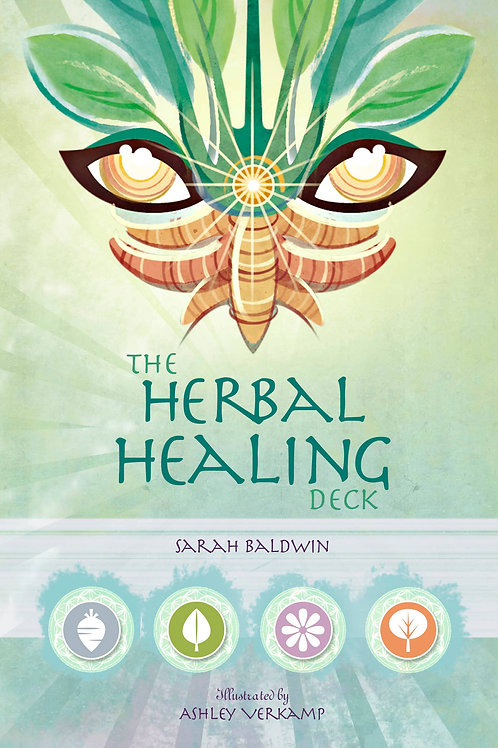 The Herbal Healing Deck Book
