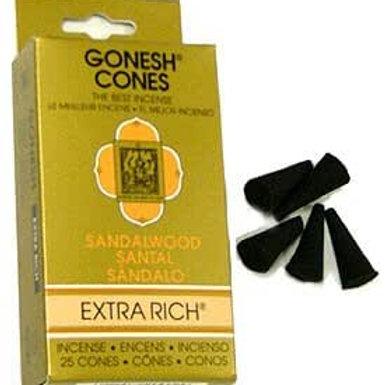 Gonesh Cones 25 Pack