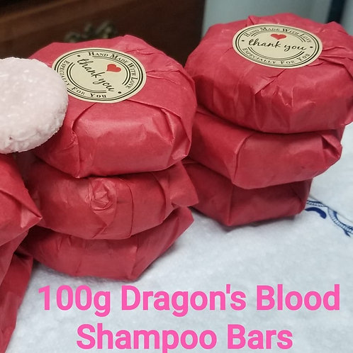 Paisley Princess Dragon's Blood Shampoo Bar