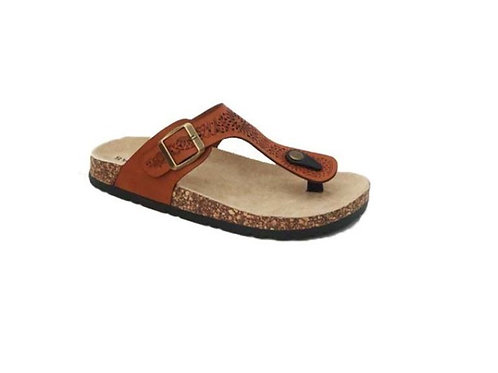 SLIP ON THONG SANDAL WITH BUCKLE