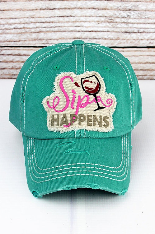 Sip Happens Hat