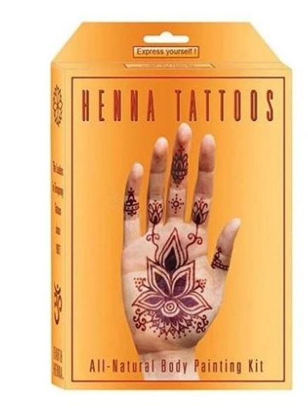 Henna All Natural Tattoo Kit