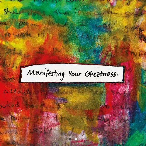 Manifesting Your Greatness Deck
