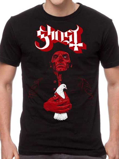 Ghost Red Dove T-shirt
