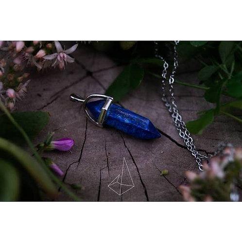 Stone Of Wisdom Lapis Lazuli Healing Stone Necklace