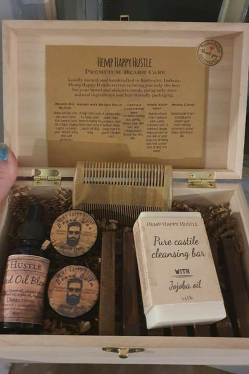 Hemp Happy Hustle Beard Box