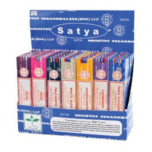 Satya Nag Champa Incense 15g Packs