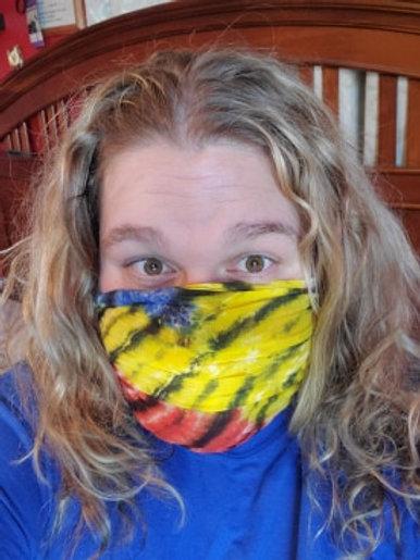 Karma Tie-Dye Elastic Bandana-Headbands