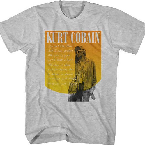 Kurt Cobain Just Happy T-Shirt